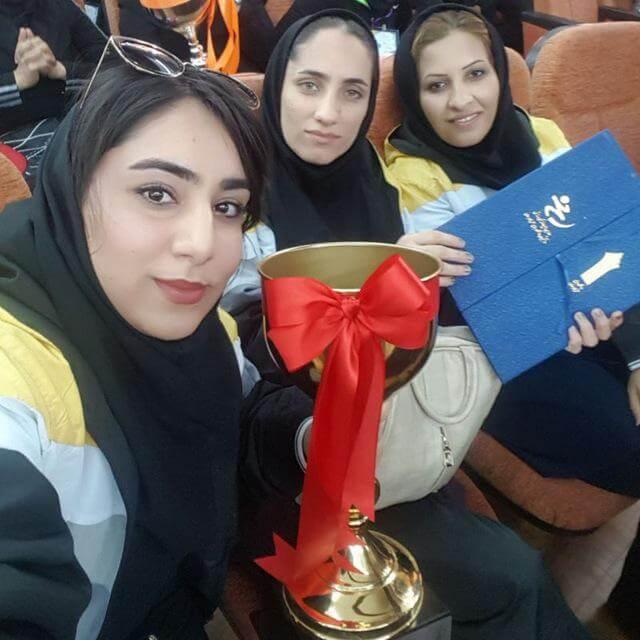 موفقیت مهسا گذشتی در مسابقات المپیاد دانشجویی کشور