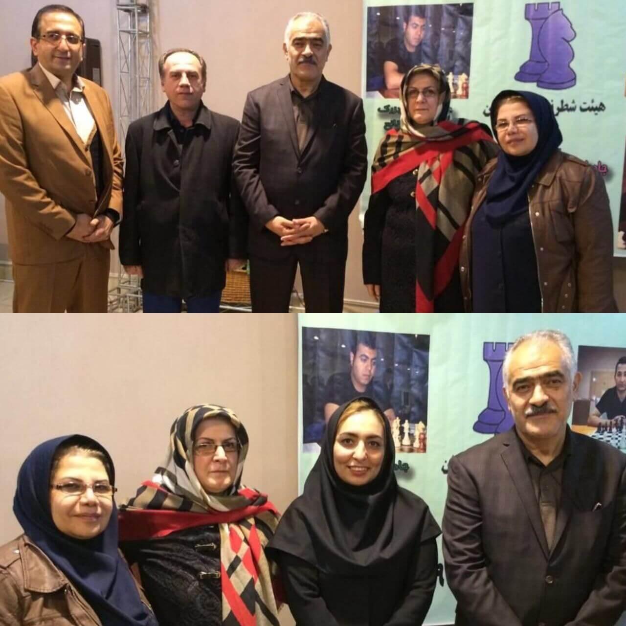 اختتامیه مسابقات شطرنج لیگ دستجات آزاد استان تهران